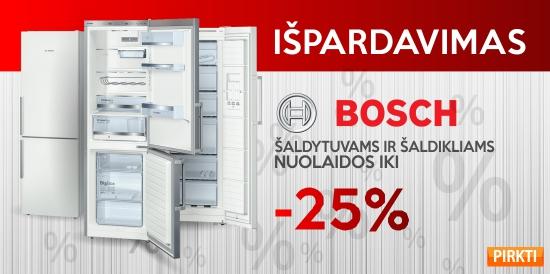 Bosch maisto ruošimo technikai iki -25%