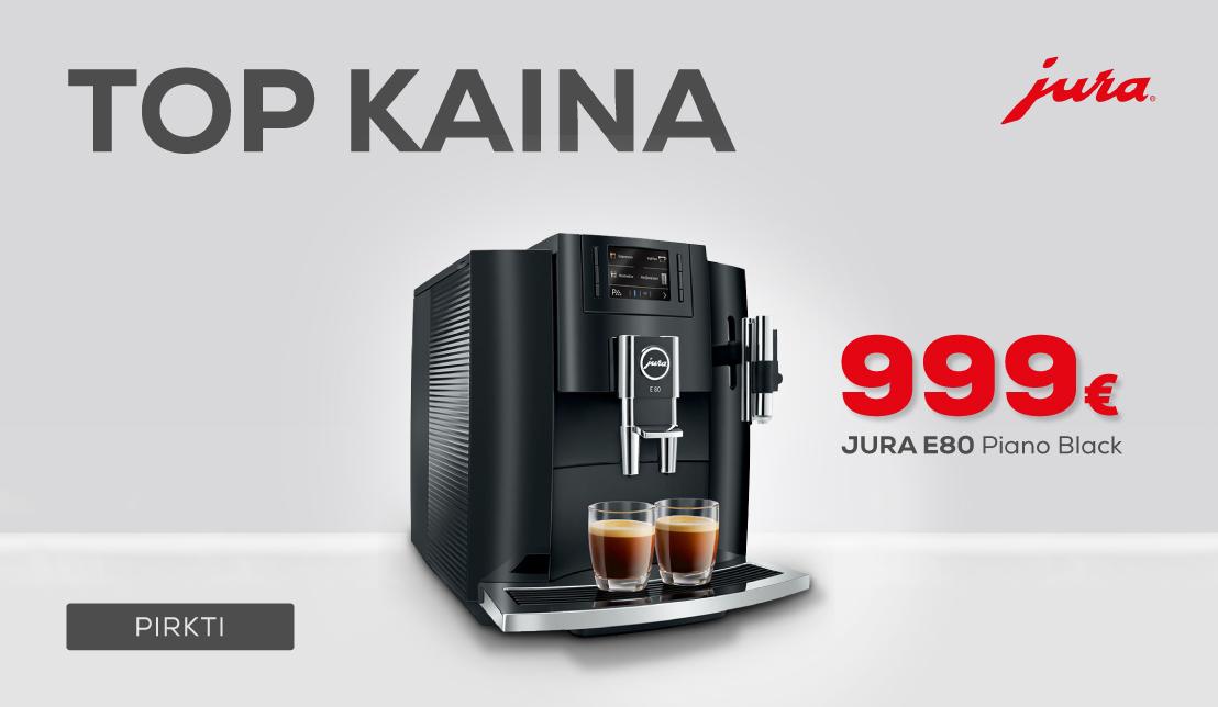 JURA E80 Piano Black