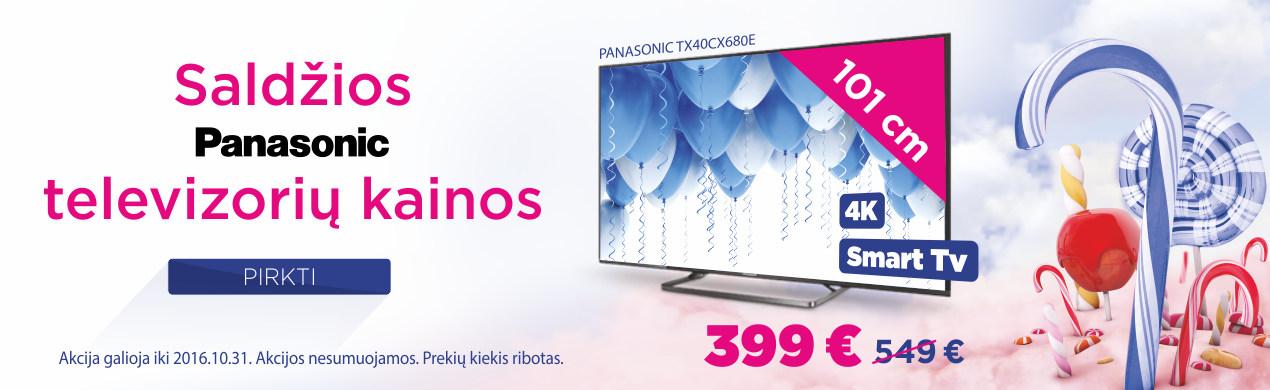 Saldžios PANASONIC TV kainos!