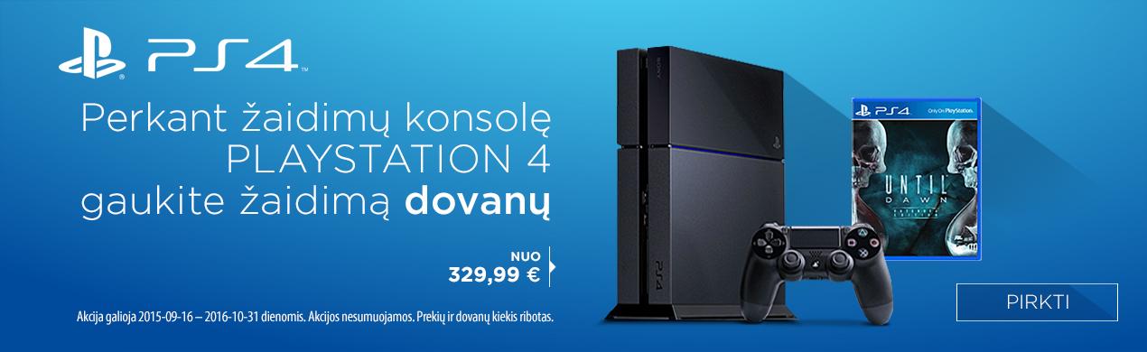 Perkant  SONY Playstation 4 - Dovana!