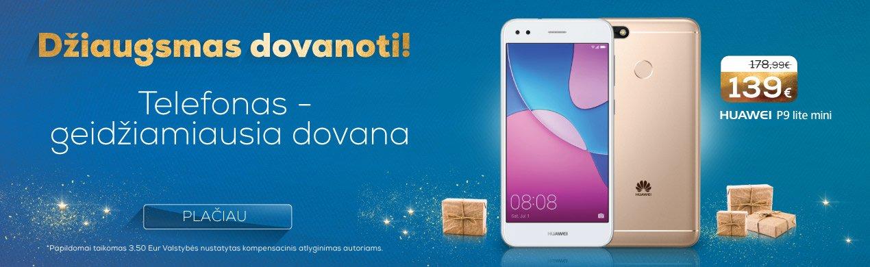 Huawei p9 lite mini – tik 139 €