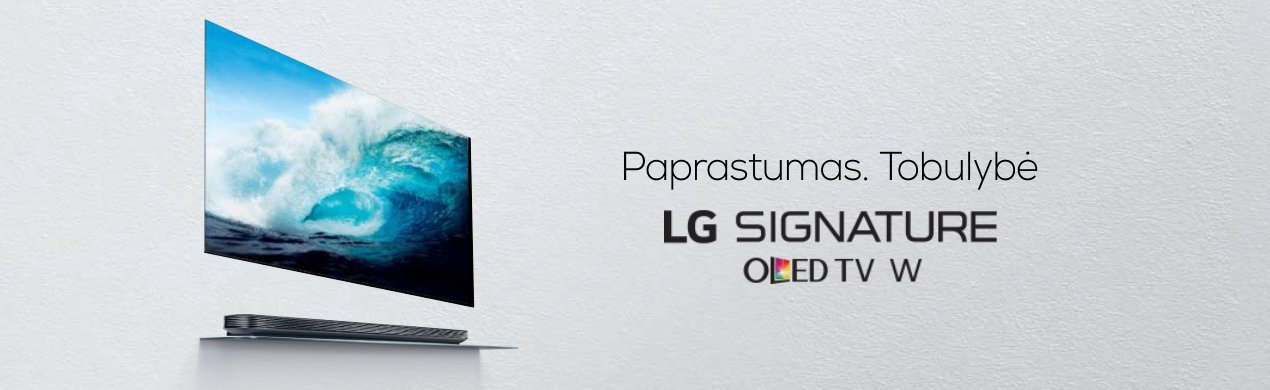 LG SIGNATURE – Paprastumas ir tobulybė