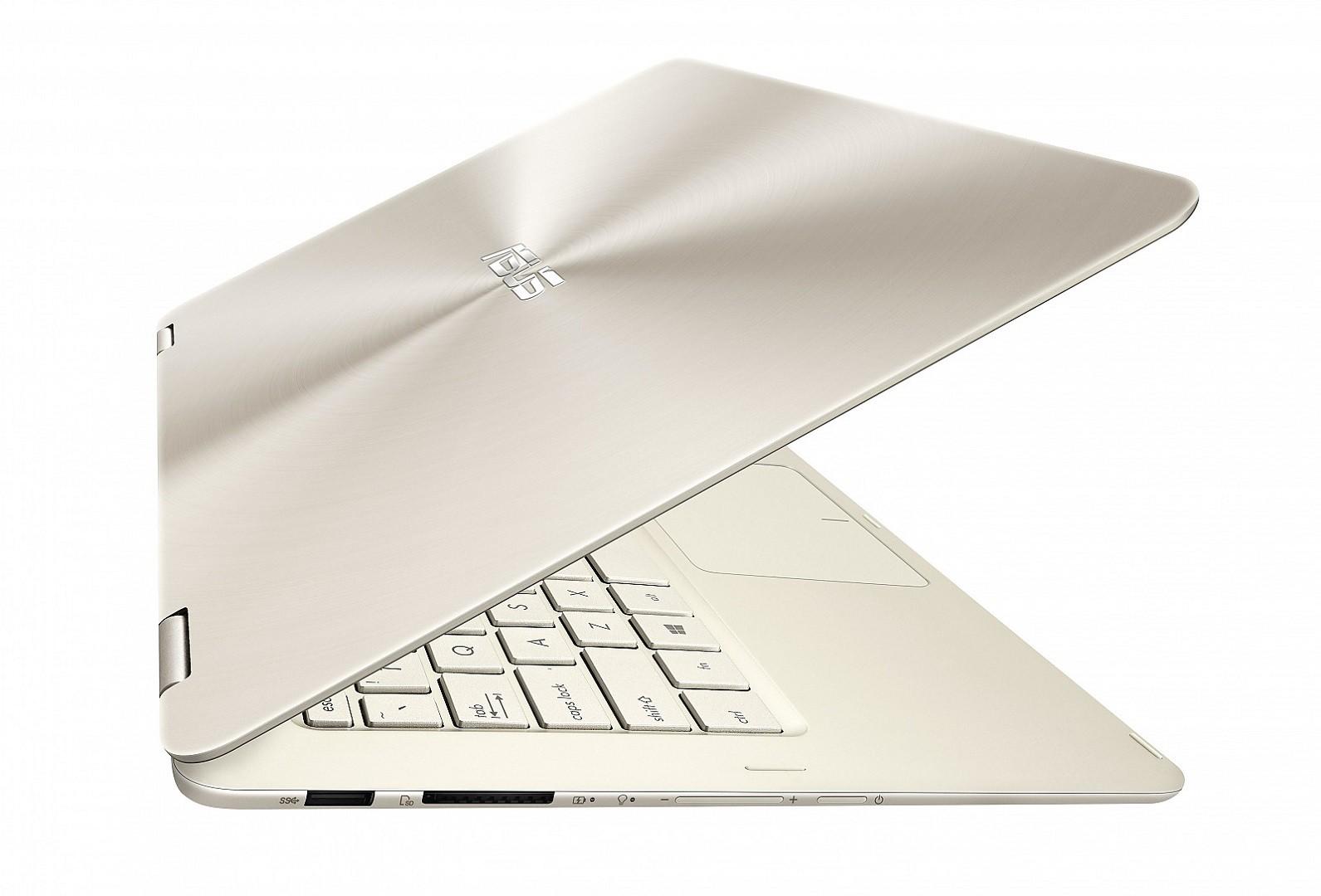 Nešiojamas kompiuteris ASUS Zenbook Flip UX360CA  M3/4/256/HD/W10/Gold 4