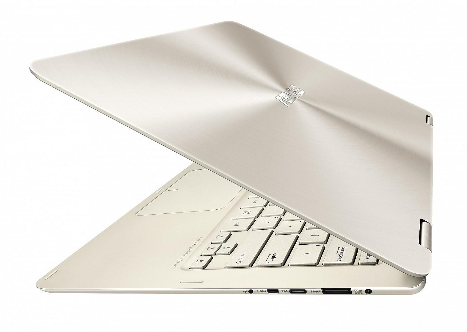 Nešiojamas kompiuteris ASUS Zenbook Flip UX360CA  M3/4/256/HD/W10/Gold 6