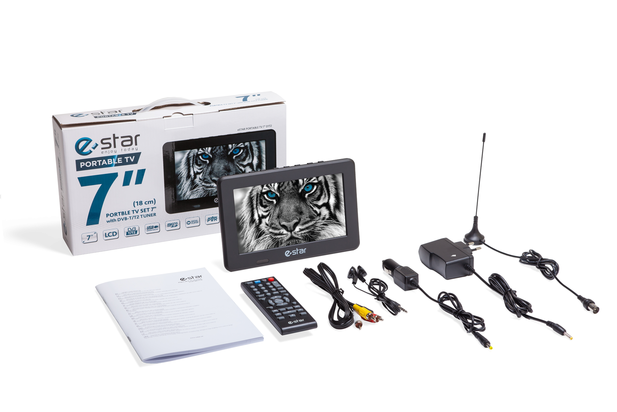 Televizorius eSTAR LCD TV T7D1T2 4