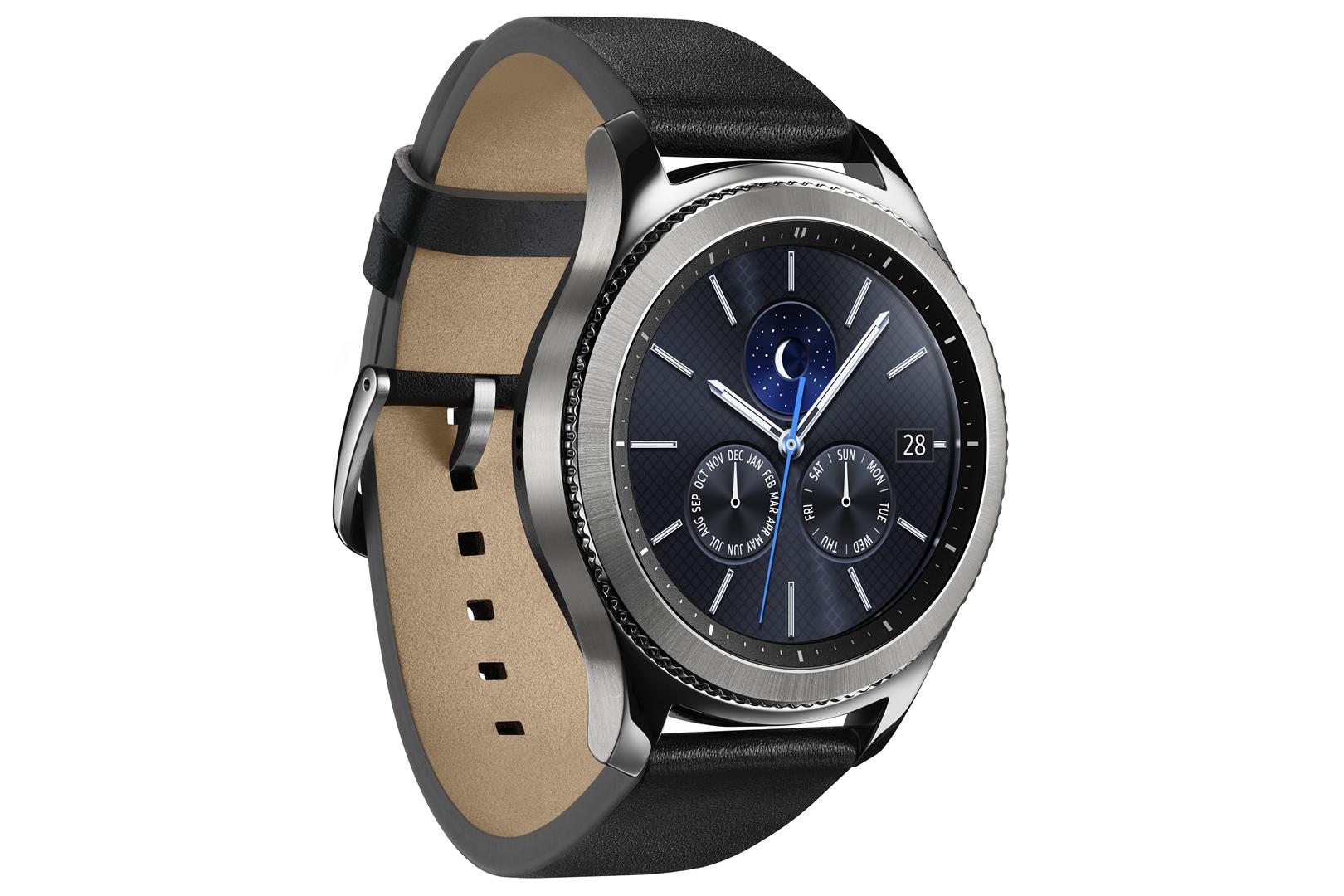Išmanusis laikrodis SAMSUNG Gear S3 Black R770 4