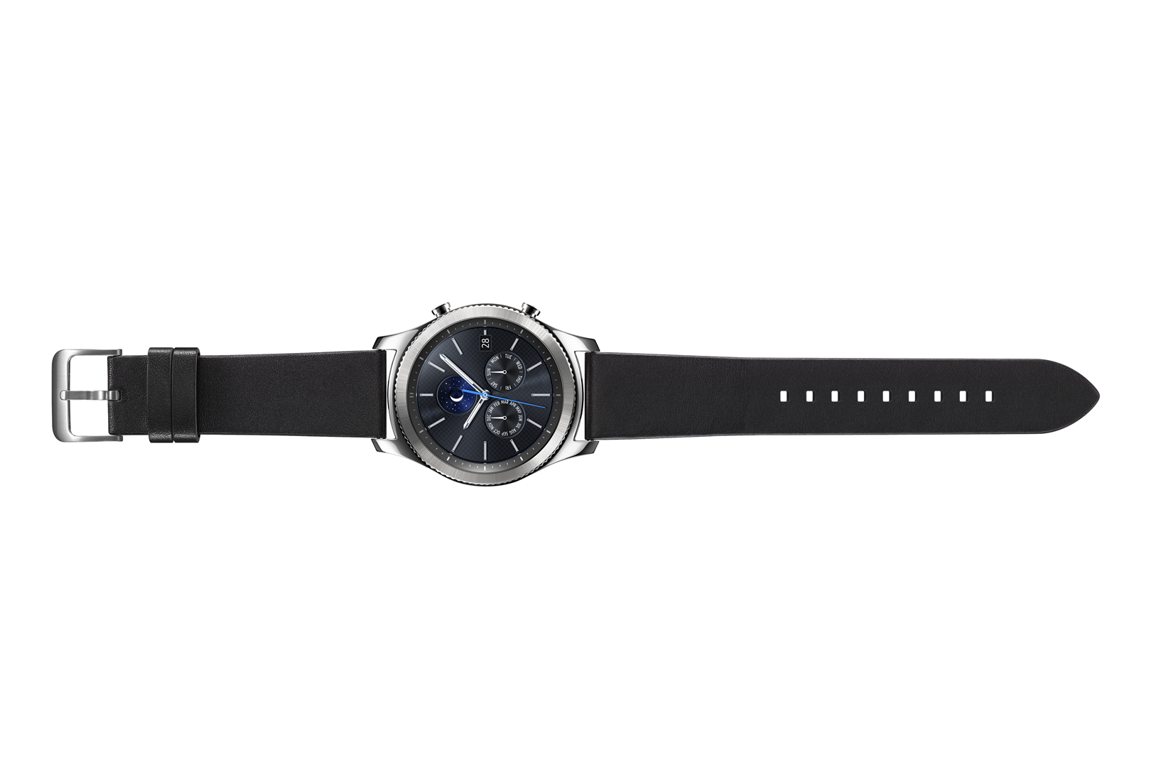Išmanusis laikrodis SAMSUNG Gear S3 Black R770 2