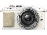 Fotoaparatas OLYMPUS E-PL7 1442 Pancake Zoom Kit White