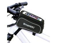 """Dėkliukas HAWEEL 5,5"""", krepšys, ant dviračio, juodas"""
