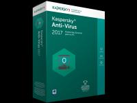 Antivirusinė programa KASPERSKY 2017 1PC NEW (nauja), 12 mėn