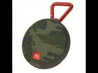Kolonėlė JBL Clip2, 3W, su karabinu, su mikrofonu, pakabinama, atsp. drėgmei, IPX7, kamufliažinė