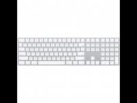 Klaviatūra APPLE Magic, Bluetooth, RUS, balta