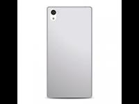 Dėkliukas PURO Xperia Z5, nugarėlė, balta + ekrano plėvelė, silikoninė