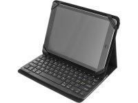 "Klaviatūra DELTACO Bluetooth, su dėklu 10"", juoda / TB-137-UK"