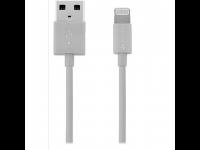 Įkroviklis KANEX K8PIN4FPSG, Lightning jungtis į USB, 1.2m, Space Gray