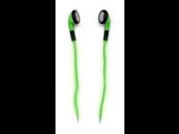 Ausinės SATZUMA Electrolight,  į ausis, šviečiančios, žalios
