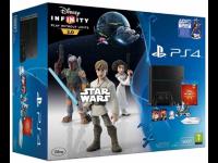 Žaidimų kompiuteris SONY PlayStation 4 (PS4)  500GB+žaidimas Disney Infinity 3.0