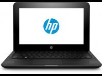 Nešiojamas kompiuteris HP Stream X360 11-AA002NA N3060/2/32/W10/Black
