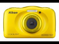 Fotoaparatas NIKON COOLPIX S33 Yellow