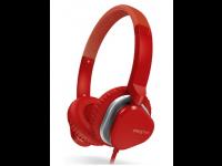 Ausinės CREATIVE MA2400 ant ausų, su mikrofonu, raudonos