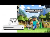 Žaidimų kompiuteris MICROSOFT XBOX ONE S 500GB + Minecraft Favorites Bundle