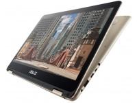 Nešiojamas kompiuteris ASUS Zenbook Flip UX360CA  M3/4/256/HD/W10/Gold