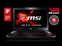 Nešiojamas kompiuteris MSI GT80S 6QE Titan SLI i7/32/1TB+256/980M SLI/W10