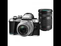 Fotoaparatas OLYMPUS E-M10II 1442IIR DZ Kit Silver/Black