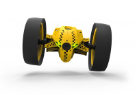 Mob. telefonu valdomas žaislas PARROT Jumping RACE Drone - Tuk Tuk, geltonas