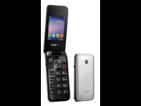 Mobilusis telefonas ALCATEL 2051D Silver