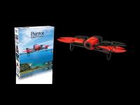 Dronas Parrot Bebop Drone Red Area 3