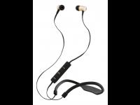 Ausinės STREETZ HL-311, į ausis, Bluetooth, su mikrofonu, atsparios vandeniui, aukso spalva