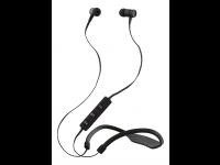 Ausinės STREETZ HL-312, į ausis, Bluetooth, su mikrofonu, atsparios vandeniui, juodos