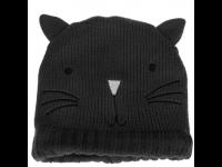Ausinės MY DOODLE kepurė Cat, pilkos sp.
