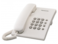 Telefonas PANASONIC KX-TS500FXW laidinis