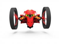 Mob. telefonu valdomas žaislas PARROT MiniDrones Jumping Night Drone Marshall, raudona