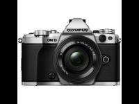 Fotoaparatas OLYMPUS E-M5II Pancake Zoom Kit silver/black