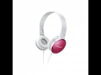 Ausinės PANASONIC RP-HF300E-P ant ausų, rožinės