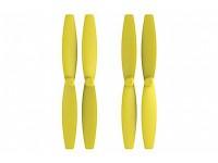Propeleriai mini dronams, geltoni, 4 vnt.