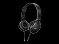Ausinės PANASONIC RP-HF300E-K ant ausų, juodos