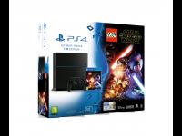 Žaidimų kompiuteris SONY PlayStation 4 (PS4) 1TB + žaidimas LEGO Star Wars: Force awakens