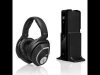 Ausinės SENNHEISER RS 165 ant ausų,namams, Wireless,  juodos