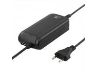 NB maitinimo šaltinis DELTACO 90W, 18,5-20V, 1A, 8 antgaliai, USB/ SMP-90WN