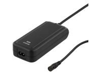NB maitinimo šaltinis DELTACO 90W,15-20V,1A, 220V, 13 antgalių, USB / SMP-90WU8