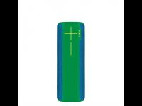 Kolonėlė ULTIMATE EARS BOOM 2 su mikrofonu, Bluetooth, atspari drėgmei, mėlyna/žalia