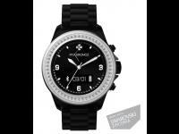 Išmanusis laikrodis MyKronoz ZeClock Swarovski Black