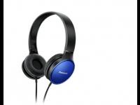Ausinės PANASONIC RP-HF300E-A ant ausų, mėlynos