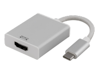 "Adapteris DELTACO PRIME USB 3.1.""C"" -HDMI, baltas / USBC-1076"