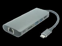 "Adapteris DELTACO USB 3.1 ""C"" - HDMI, juodas / USBC-1266"