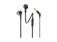 Ausinės JBL T205 į ausis, juodos